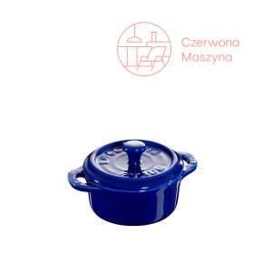 Garnek Staub Mini Cocotte 200 ml, niebieski