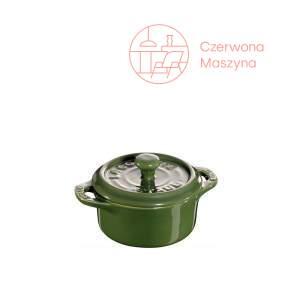 Garnek Staub Mini Cocotte 200 ml, zielony