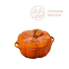 Naczynie Staub Mini Cocotte Dynia 500 ml, pomarańczowy