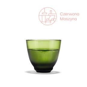 Szklanka Holmegaard Flow olive green