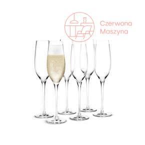6 kieliszków do szampana Holmegaard Cabernet 360 ml