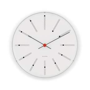 Zegar ścienny Rosendahl Bankers Arne Jacobsen Ø 48 cm