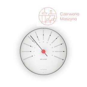Zegar ścienny z termometrem Rosendahl Bankers Arne Jacobsen