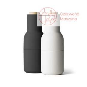 2 Młynki do soli lub pieprzu Menu Bottle Grinder 20 cm, ash/carbon