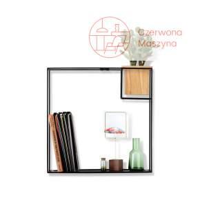Półka Umbra Cubist 39 x 38 cm, czarna