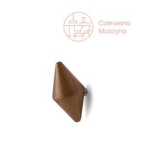 2 Haczyki Tivoli Quin 10 cm, ciemne drewno