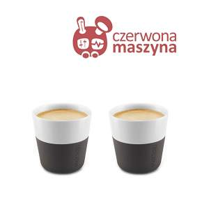 2 Filiżanki do espresso Eva Solo 80 ml, czarne