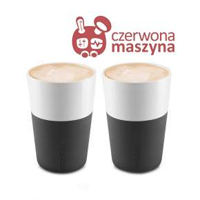 2 Filiżanki do latte Eva Solo 360 ml, czarne