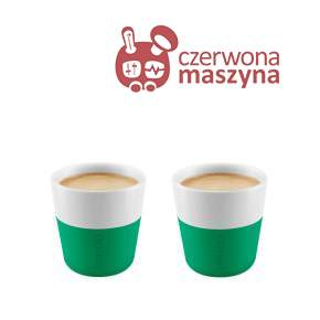 2 Filiżanki do espresso Eva Solo 80 ml, zielone