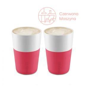 2 Filiżanki do latte Eva Solo 360 ml, różowe