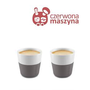 2 Filiżanki do espresso Eva Solo 80 ml, szare