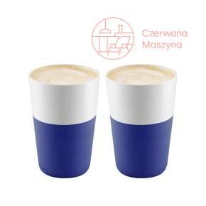 2 Filiżanki do latte Eva Solo 360 ml, ciemnoniebieskie