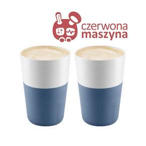 2 Filiżanki do latte Eva Solo 360 ml, jasnoniebieskie