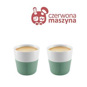 2 Filiżanki do espresso Eva Solo 80 ml, miętowe