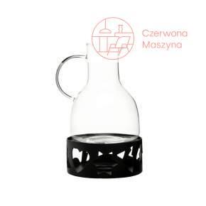 Dzbanek do grzanego wina z podgrzewaczem Sagaform Christmas, czarny