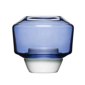 Świecznik Sagaform Shine Ø 10 cm, niebieski
