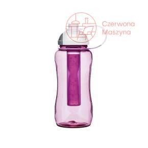 Butelka z wkładem na lód Sagaform Fresh 0,52 l, różowa