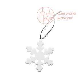 3 Zawieszki na choinkę Sagaform Winter, płatki śniegu