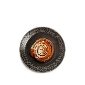 Talerz deserowy Sagaform Coffee Ø 20 cm, szary