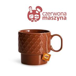 Filiżanka do herbaty Sagaform Coffee 400 ml, czerwona