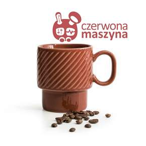 Filiżanka do kawy Sagaform Coffee 250 ml, czerwona