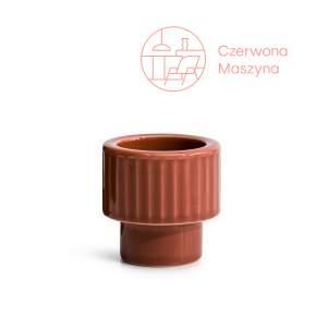 Kieliszek na jajko/świecznik tealight, Sagaform Coffeek, czerwony