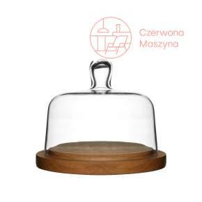 Deska do serów z pokrywą szklaną Sagaform Oval Oak