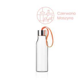 Butelka na wodę Eva Solo 0,5 l, z pomarańczowym uchwytem