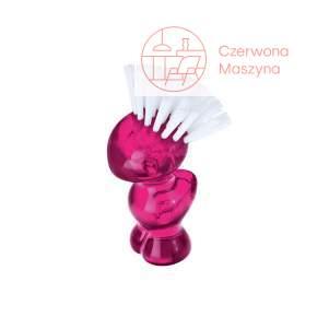 Szczoteczka do paznokci Koziol Mini Tweetie różowa przezroczysta