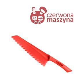 Nóż do sałaty Scanpan Spectrum 18 cm, czerwony