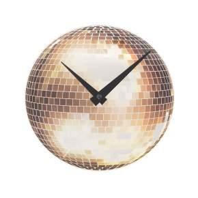 Zegar ścienny NeXtime Little Disco Ø 20 cm