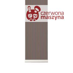 Tapeta ferm LIVING Thin Lines Bordeaux/Grey