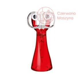 Nożyczki ze stojakiem Koziol Mini Edward czerwone