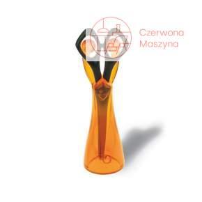 Nożyczki ze stojakiem Koziol Edward pomarańczowe