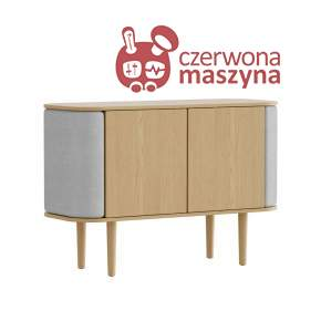 Komoda 2-drzwiowa Umage Treasures, Oak, Silver Grey
