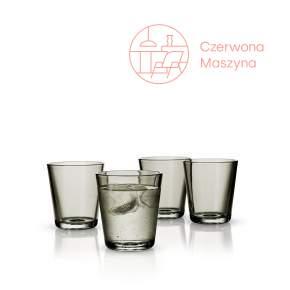 4 Szklanki Eva Solo 250 ml, szare przezroczyste