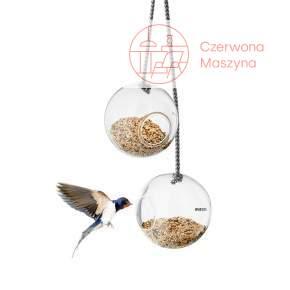 Podwójny karmnik dla ptaków Eva Solo, szklany