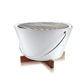 Grill stołowy Eva Solo Ø 30 cm, biały
