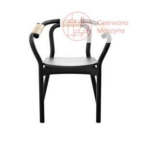 Krzesło Normann Copenhagen Knot czarno-kremowe
