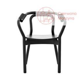Krzesło Normann Copenhagen Knot czarne