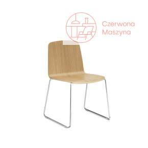 Krzesło Normann Copenhagen Just, brązowe