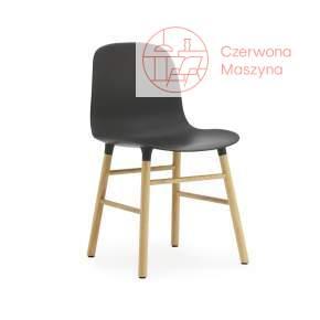 Krzesło Normann Copenhagen Form dąb, czarne