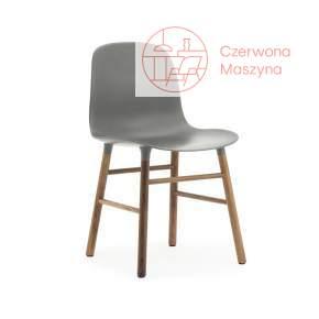 Krzesło Normann Copenhagen Form orzech, szare