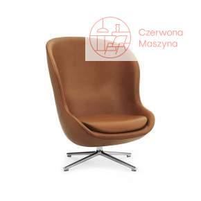 Fotel obrotowy Normann Copenhagen Hyg High Alu Ultra Leather
