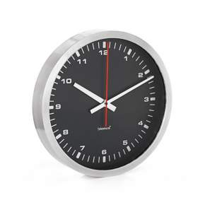 Zegar ścienny Blomus Era Ø 40 cm czarny