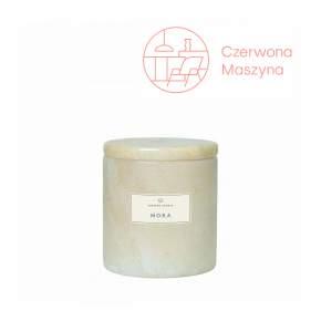 Marmurowa świeca zapachowa Blomus Frable Mora Moonbeam