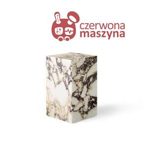 Stolik marmurowy Menu Plinth 30 x 30 x 51 cm, rose calacatta