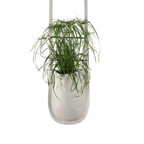 Donica Authentics Urban Garden Ø 20 cm beżowa, wisząca
