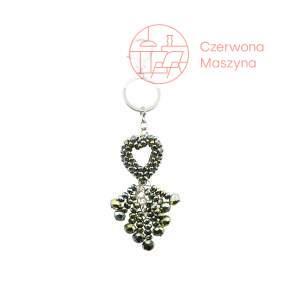 Breloczek Gift Company Crystal Heart