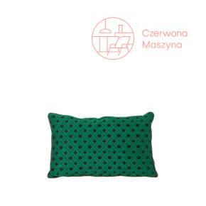 Poduszka ferm LIVING Mosaic, zielona